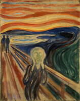 Edvard Munch The Scream Giclee Canvas Print Paintings Poster LARGE SIZE