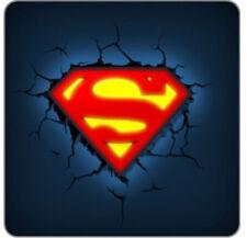 3D FX Dc Comics Superman Logo Wall Night Light