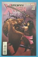 The Uncanny X-MEN (2012) #5 Greg Land Psylocke Cover Marvel Comics