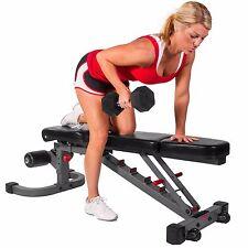 XMark Fitness FID Flat Incline Decline Weight Bench XM-7604