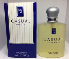 CASUAL For Men By Paul Sebastian 3.4 Oz Cologne Spray Extremely Rare New Boxed