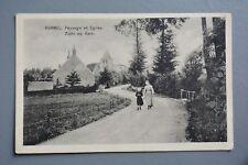 R&L Postcard: Belgium Kemmel Paysage et Eglise Zicht op Kerk