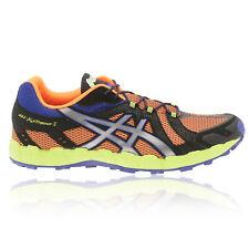 Asics Mens GEL-FUJITRAINER 3 Trail Running Shoes Trainers Sneakers Black Orange