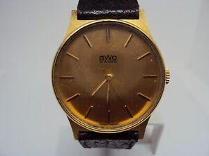 Vintage Men's watch BWC Quartz Swiss Made