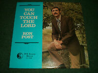 You Can Touch The Lord Ron Post~RARE Private NW Christian Gospel Worship~VG++ LP