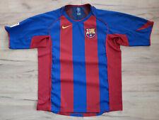 FC BARCELONA! 2004-05! shirt trikot maglia camiseta jersey kit! 6/6 ! XL adult#