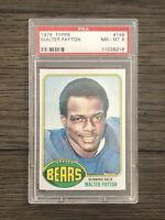 1976 Topps WALTER PAYTON Rookie Card #148 PSA 8 NM-MT RC HOF SWEETNESS Bears