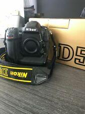 Nikon D D5 20.8MP Digital SLR Camera - Black (Body Only) (Dual CF Card Slots)