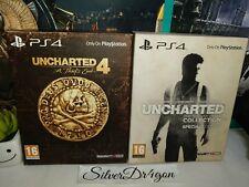 Uncharted Nathan Drake Colección & 4 un ladrón's End Edición Especial Ps4...