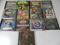 Lot of 13 Vintage PC Games Includes Sonic and Knuckles, Toy Story, and More