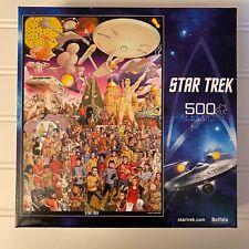 Buffalo Games Star Trek 500 pc Jigsaw Puzzle 03350 The Original Series