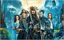 Pirates of the Caribbean Film Grand Poster Art Print 91x61 cm