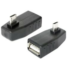 2.0 Mini USB Adapter A Buchse Kupplung auf Micro B 5 polig mit Winkelstecker