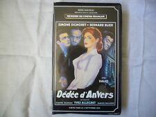 Dedee D'anvers Dédée 1948 Yves Allégret Simone Signoret VHS SECAM FRENCH BIG BOX
