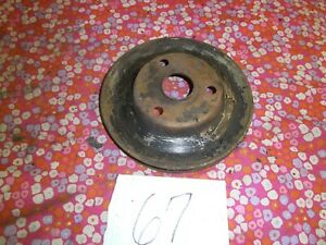 FORD FE 332 352 390 406 361 ENGINE CRANK PULLEY PULLY SHEAVE OE MERCURY LINCOLN