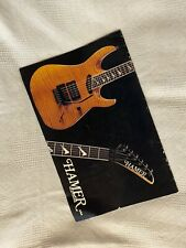 Hamer Guitars Gitarren Taylor PRS Prospekte Flyer Werbung Retro Vintage History