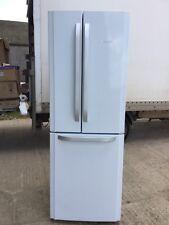 HOTPOINT American fridge freezer Large ice white & silver 3 door Stunning