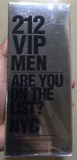 Treehousecollections: Carolina Herrera 212 VIP EDT Perfume For Men 100ml