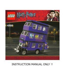 instruction only Lego Custom Instruction BUSSTATION KIOSK BUS