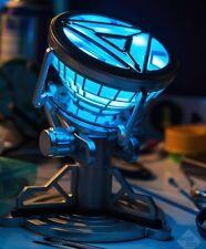 Iron Man MK VI 1:1 Tony Stark LED ARC Reactor Prop Light Remote Control NEW