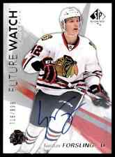 2016-17 SP AUTHENTIC FUTURE WATCH GUSTAV FORSLING ROOKIE AUTO 716/999 CHICAGO