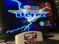 ✅NFL Blitz (Nintendo 64, 1997) TESTED! WORKS GREAT SEE GAMEPLAY PICS! SHIPS FAST