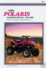 Clymer POLARIS SCRAMBLER 500 4x4 1997-2000 M363 Manual