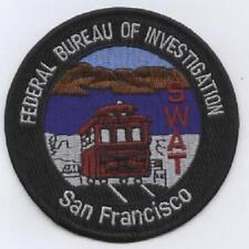 F.B.I. POLICE SAN FRANCISCO SWAT POLICIA