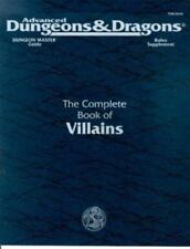 Advanced Dungeons and Dragons: Complete Book of Villains by Rick Swan (1994, Ha…
