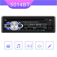 Single 1 Din Car Radio DVD CD MP3 Player In-dash BT FM USB/AUX/SD Audio Stereo