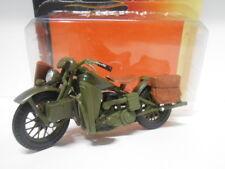 MOTO BIKE HARLEY DAVIDSON 1942 WLA FLATHEAD MAISTO 1/18