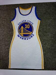 Golden State Warriors Nba Jersey Dress