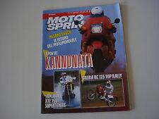 MOTOSPRINT 21/1989 BMW K1/GILERA RC 125 TOP RALLY/YAMAHA XTZ 750 SUPERTENERE'