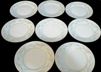 Valmont Royal Wheat Set of 8 Bread & Butter Plates Made in Japan Fine China 6.5""