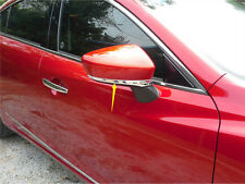 ABS Chrome Rearview Side Mirror Stripe Cover Trim For Mazda 3 AXELA M3 2014-2017