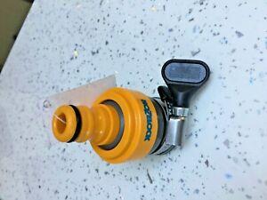 Hozelock 2176 Round Tap Connector Indoor outdoor Garden Hose Pipe Adaptor