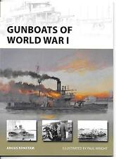 Osprey Vanguard Gunboats of WWI, VAN 221 Softcover Reference ST