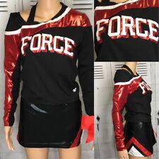 Cheerleading Uniform Force Adult Large Metallics