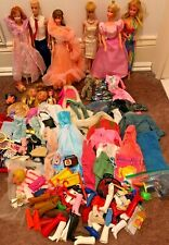 New ListingVintage Barbie Dolls & Ken + clothing lot late 60's to mid/late 80s
