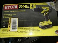 18-Volt Cordless 1/2 in. Drill/Driver Kit w/ Lithium-Ion Battery & Charger P215K