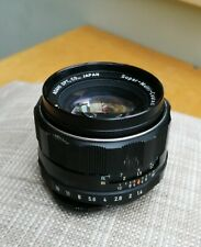 Asahi Pentax Super Multi Coated Takumar 50mm f1.4 M42 Mount