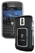 Caricabatterie e dock neri con wireless per cellulari e palmari per BlackBerry
