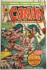 CONAN THE BARBARIAN#58 VF 1976 FIRST BELIT MARVEL BRONZE AGE COMICS