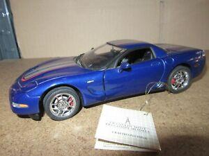 851Q Franklin Mint 2004 Chevrolet Corvette Z06 Commemorative Edition 1:24