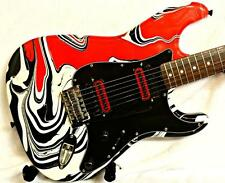 Custom Painted And Upgraded Fender Squier Affinity Strat Electric Guitar
