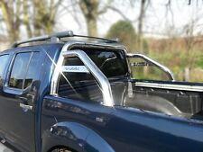 Para adaptarse a 2005 a 2016 Nissan Navara D40 Sport arco Roll Bar De Acero Inoxidable