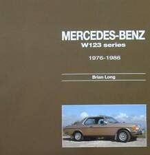 BOEK/LIVRE : MERCEDES BENZ W123 SERIES 1976 - 1986 (coupe,break,oldtimer