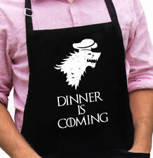 Dinner is Coming - Game of Thrones Novelty Apron Gift Fathers Day by ApronMen