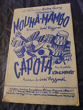 Partition Mouna Mambo Pozzardi Capota Music Sheet