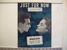 Just for Now - vintage sheet music - 1948 Advanced Music Corp